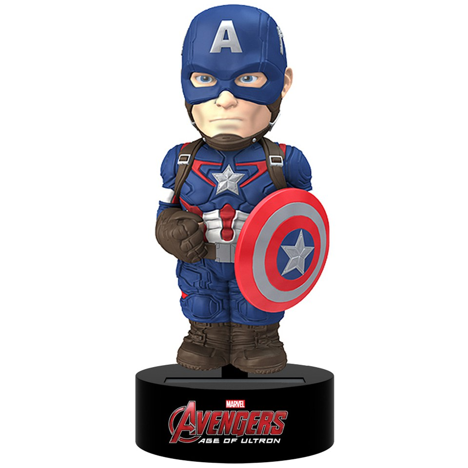 Figurine Solaire Captain America Avengers-NECA- Body Knocker