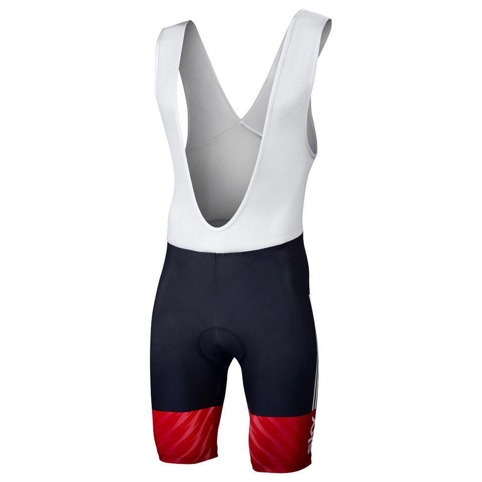 0f2591adc149a2 adidas British Cycling Team Race Bib Shorts 2015 - Blue/White/Red |  ProBikeKit UK