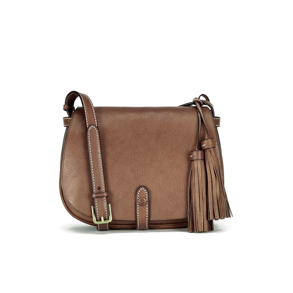 Alin hinta koko 7 paras hinta Polo Ralph Lauren Women's Saddle Bag - Cuoio