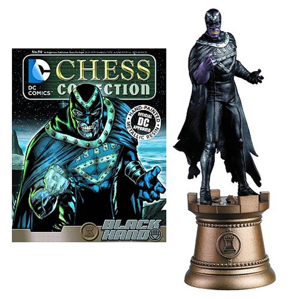 Dc Comics Black Hand Black Bishop Chess Piece With