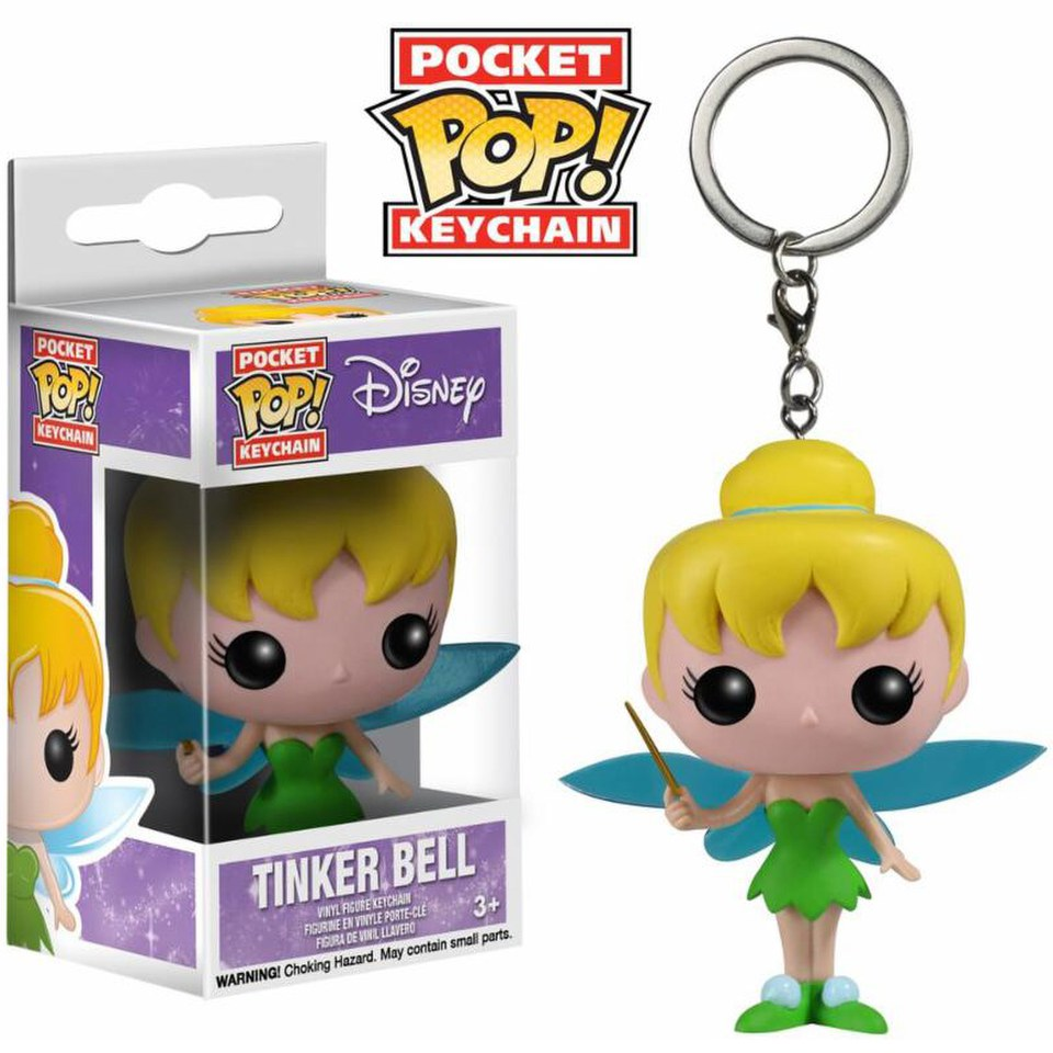 Porte-clés Pocket Pop! Disney La Fée Clochette