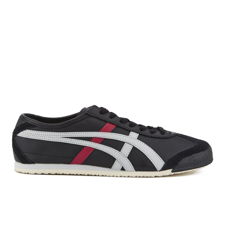new product 1398e 4e542 Asics Onitsuka Tiger Men's Mexico 66 Trainers - Black/Soft Grey