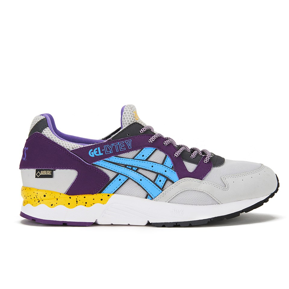 designer fashion f68bf 90aaa Asics Lifestyle Men's Gel-Lyte V Goretex Trainers - Soft Grey/Light Blue