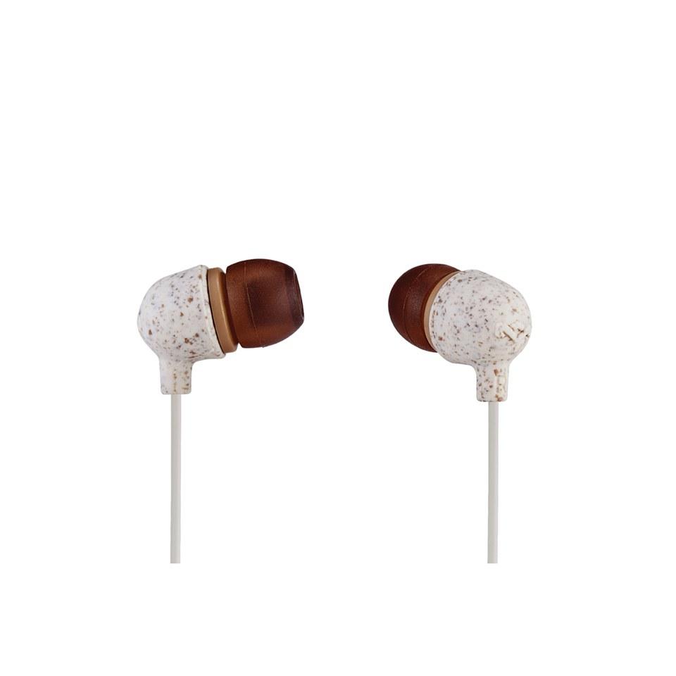 The House of Marley Little Bird Earphones - Cream Electronics ... 494e6d044f8a8