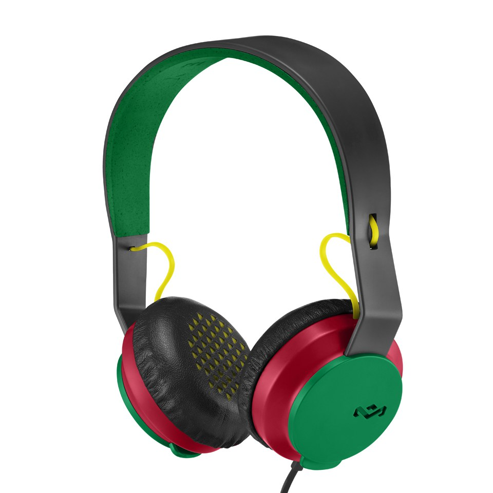 The House of Marley Roar Headphones (Includes In-Line 1 Button Mic ... bc0926cd3d20f