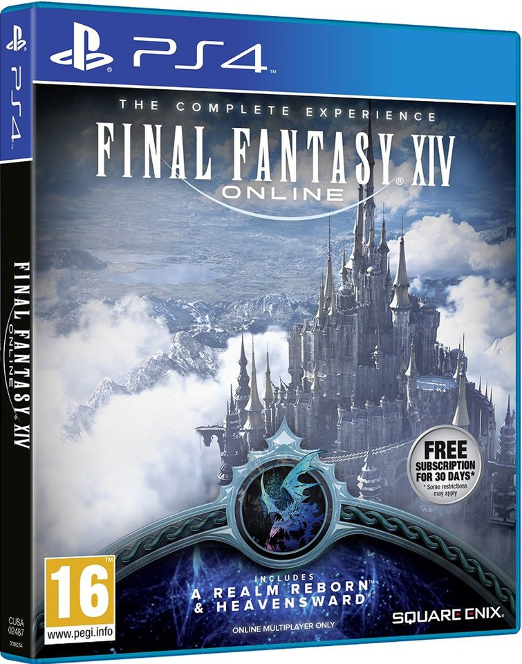 Final Fantasy Xiv Online The Complete Experience Ps4