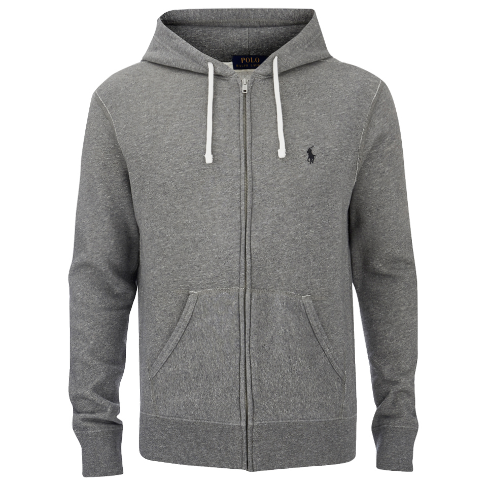 finest selection fa01f 3f2b2 Polo Ralph Lauren Men's Zipped Hoody - Basecamp Heather