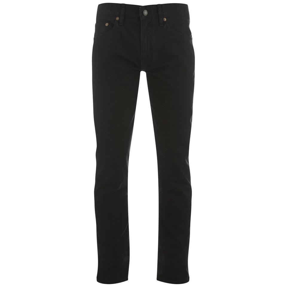 1c3442390b18 Polo Ralph Lauren Men s Sullivan Slim Fit Cotton Pants - Black - Free UK  Delivery over £50