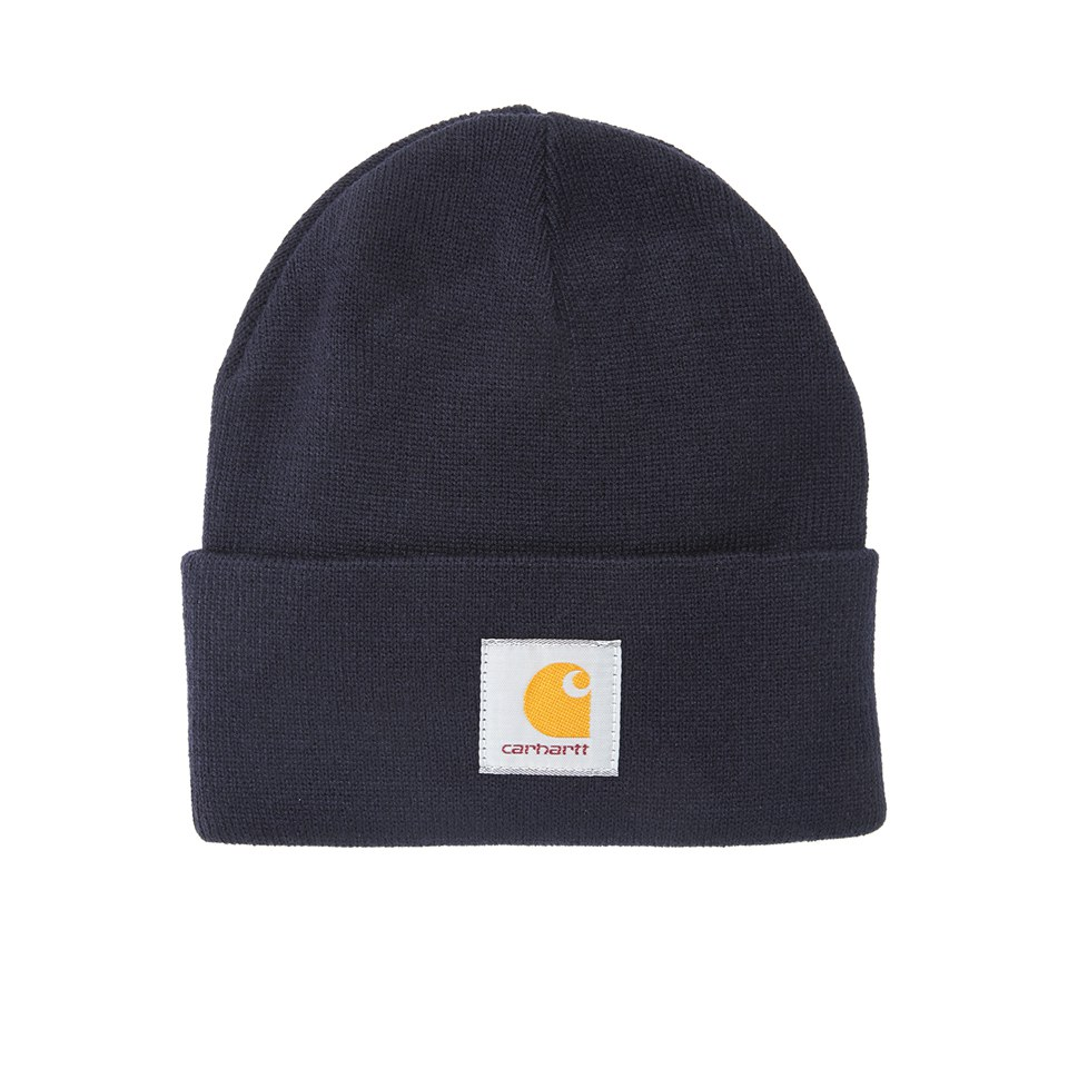 bb9141213 Carhartt Short Watch Hat - Acrylic Dark Navy