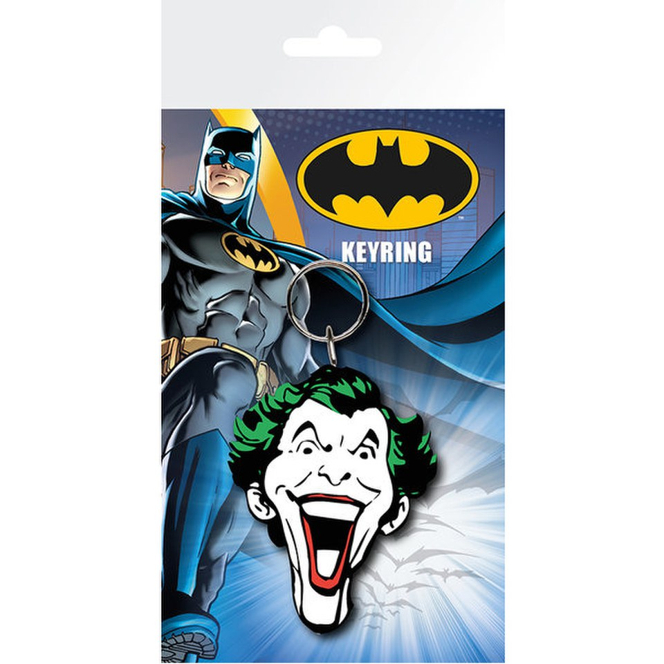 DC Comics Batman Comic Joker Face - Keyring