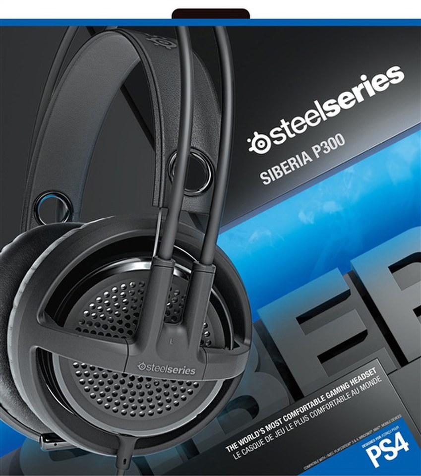 Casque de Gaming Siberia P300