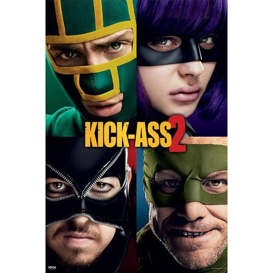 Kick Ass 2 Cast - 24 x 36 Inches Maxi Poster