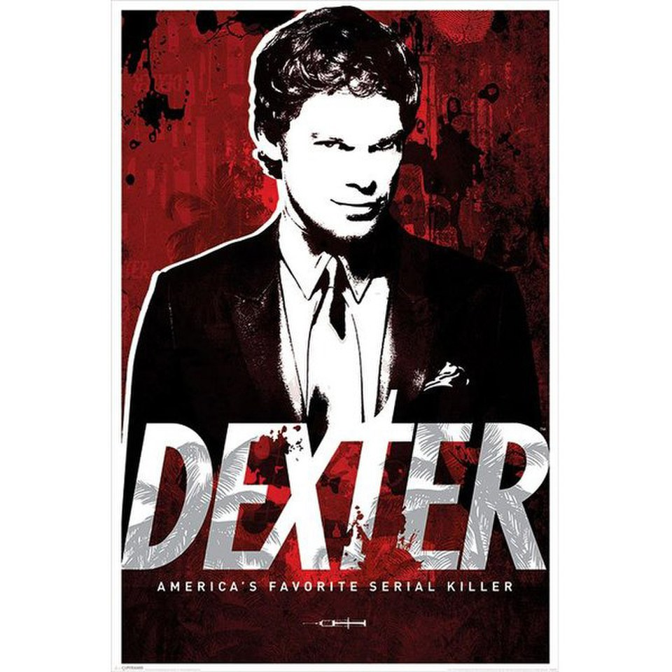 Dexter Americas Favorite Serial Killer - 24 x 36 Inches Maxi Poster