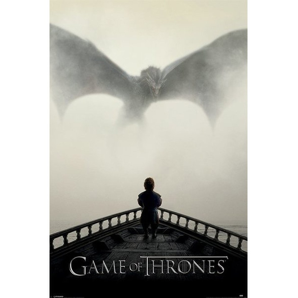 Game Of Thrones A Lion And A Dragon - 24 x 36 Inches Maxi Poster