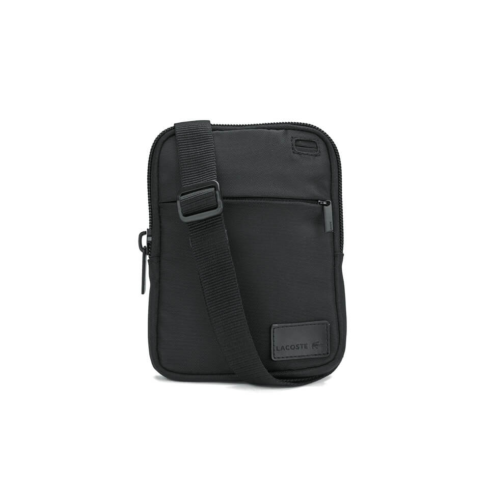 9b11b280 Lacoste Men's Cross-Body Bag - Black - Small