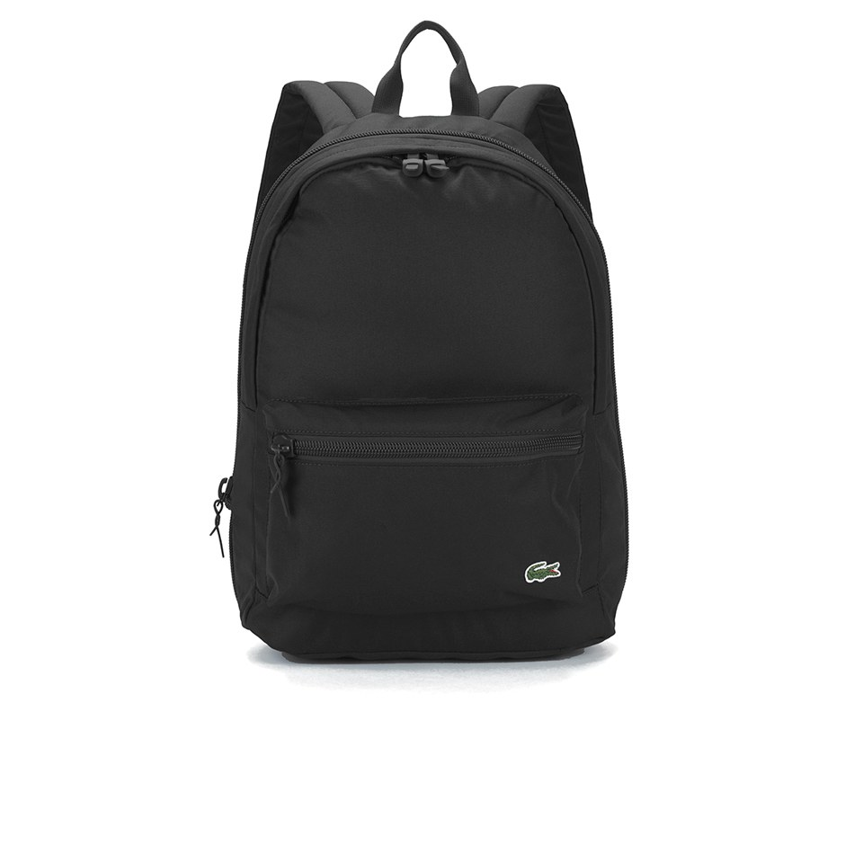 2c38bbc901a Lacoste Men's Backpack - Black Lacoste Men's Backpack - Black
