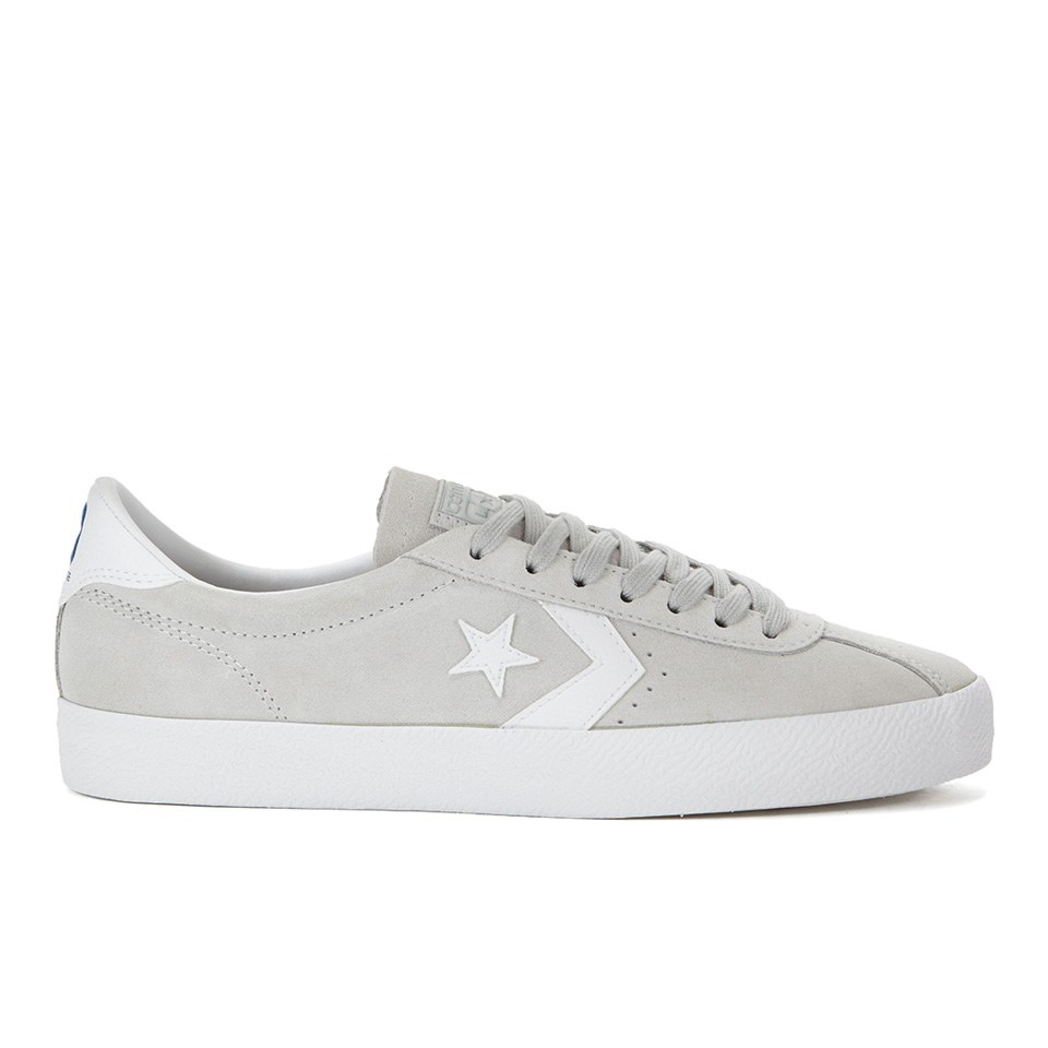 173120b749ee Converse CONS Men's Break Point Suede Trainers - Mouse/White | FREE ...