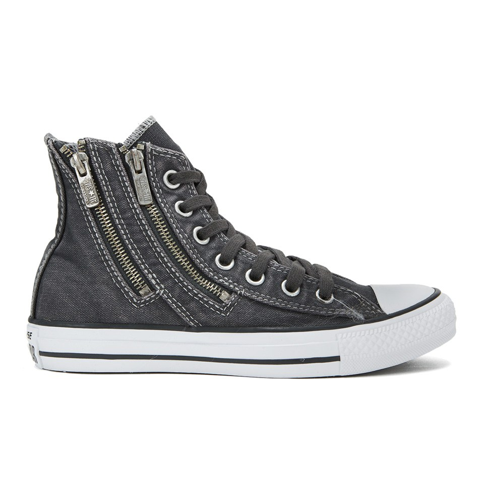 afdd83e07ec1 ... Converse Women s Chuck Taylor All Star Dual Zip Wash Hi-Top Trainers -  Storm Wind