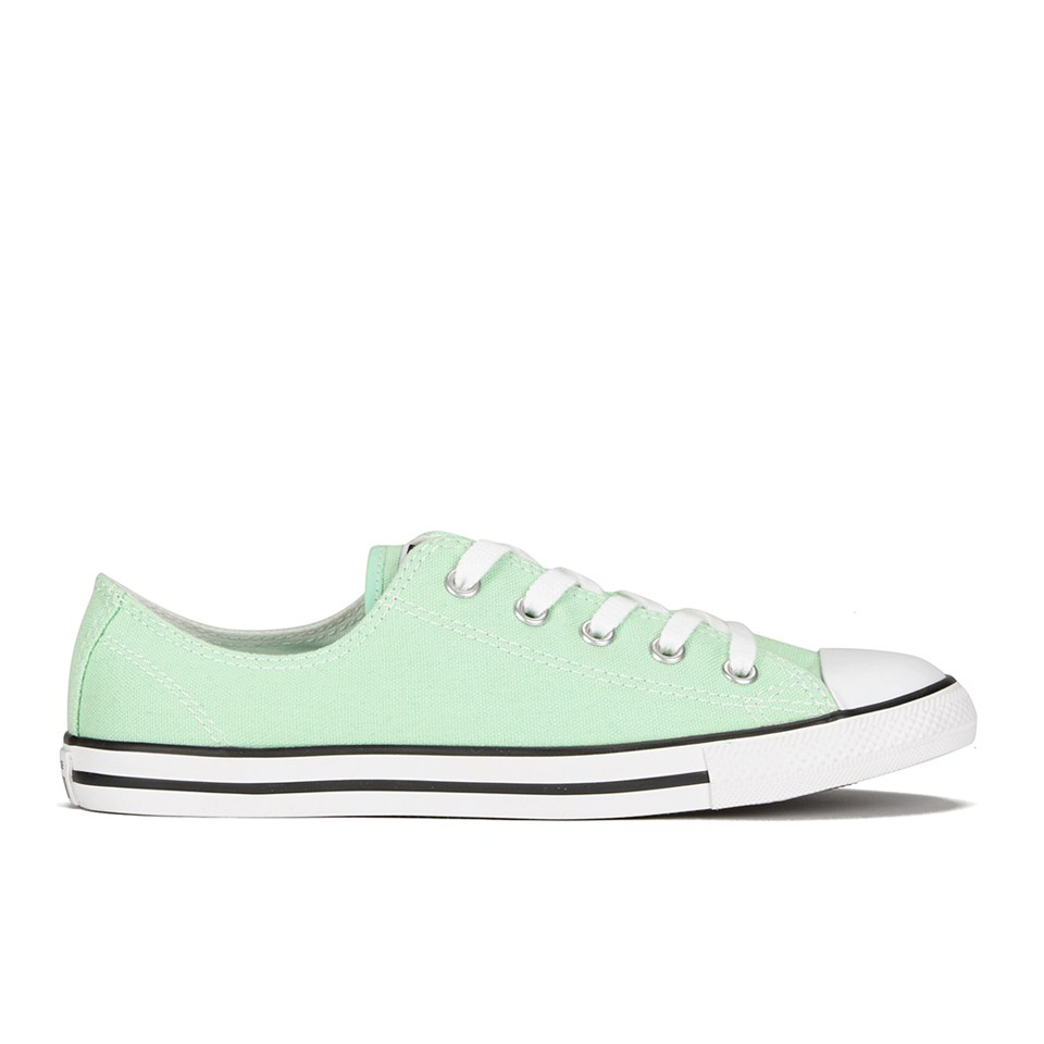 16252e48ee5f ... Converse Women s Chuck Taylor All Star Dainty OX Trainers - Mint Julep
