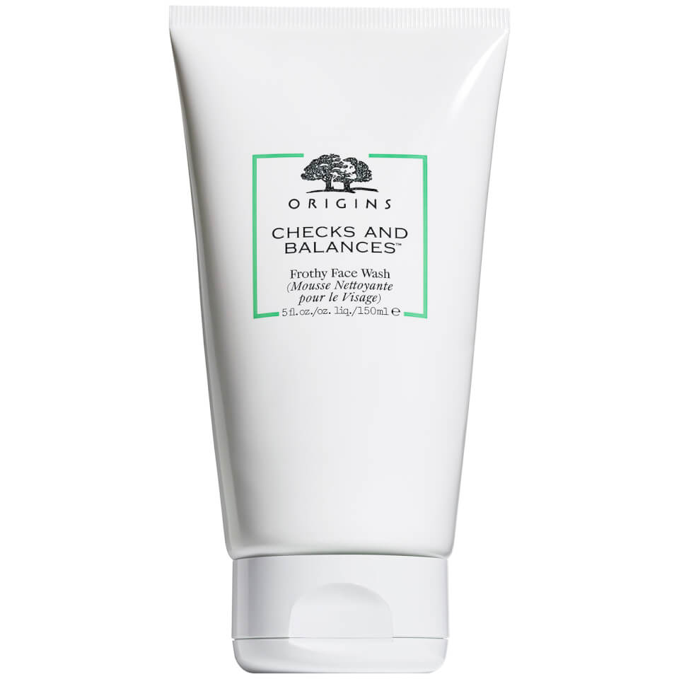 origins face wash origins checks and balances frothy wash 150ml free 30791