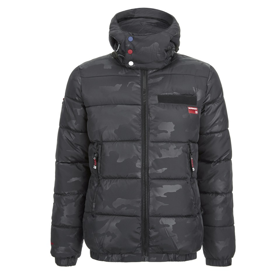 Superdry Men's Tri Racing Camo Puffer Jacket