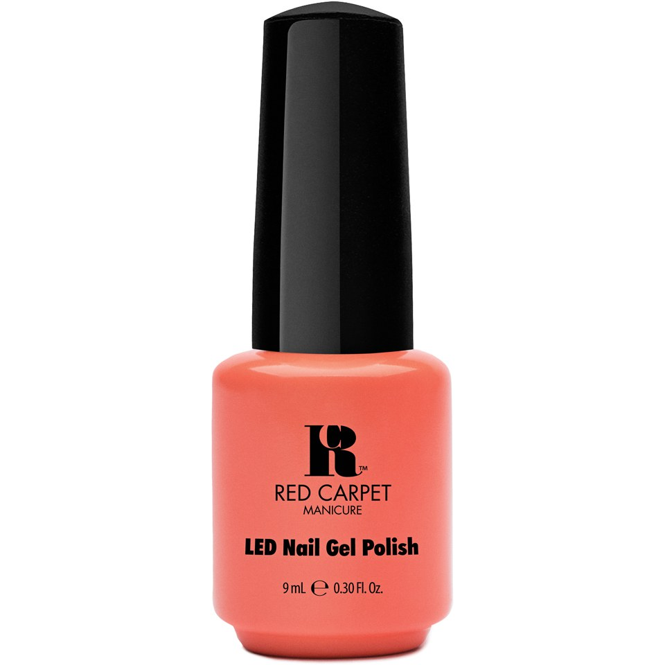 Red Carpet Manicure Staycation - Summer Peach Coral Crème (9ml ...