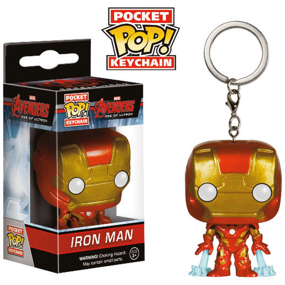 Porte-Clés Pocket Pop! Marvel Avengers L