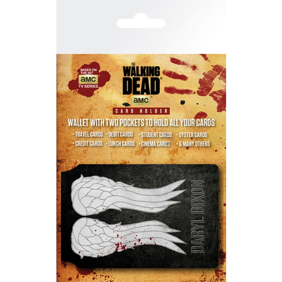 The Walking Dead Wings - Card Holder