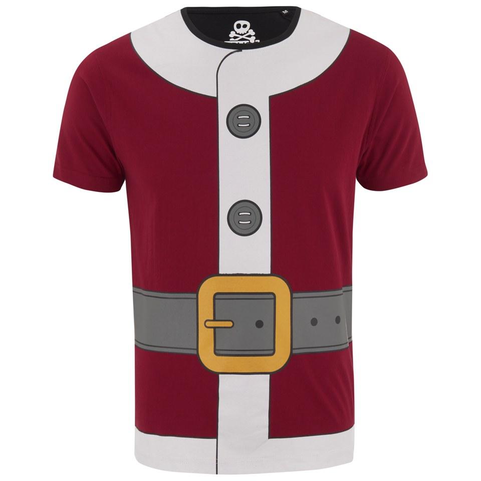 Xplicit Men S Santa Suit Christmas T Shirt Blood Red Iwoot