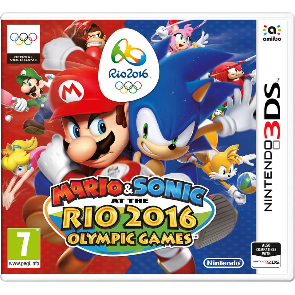 Mario & Sonic at the Rio Olympic Games 2016