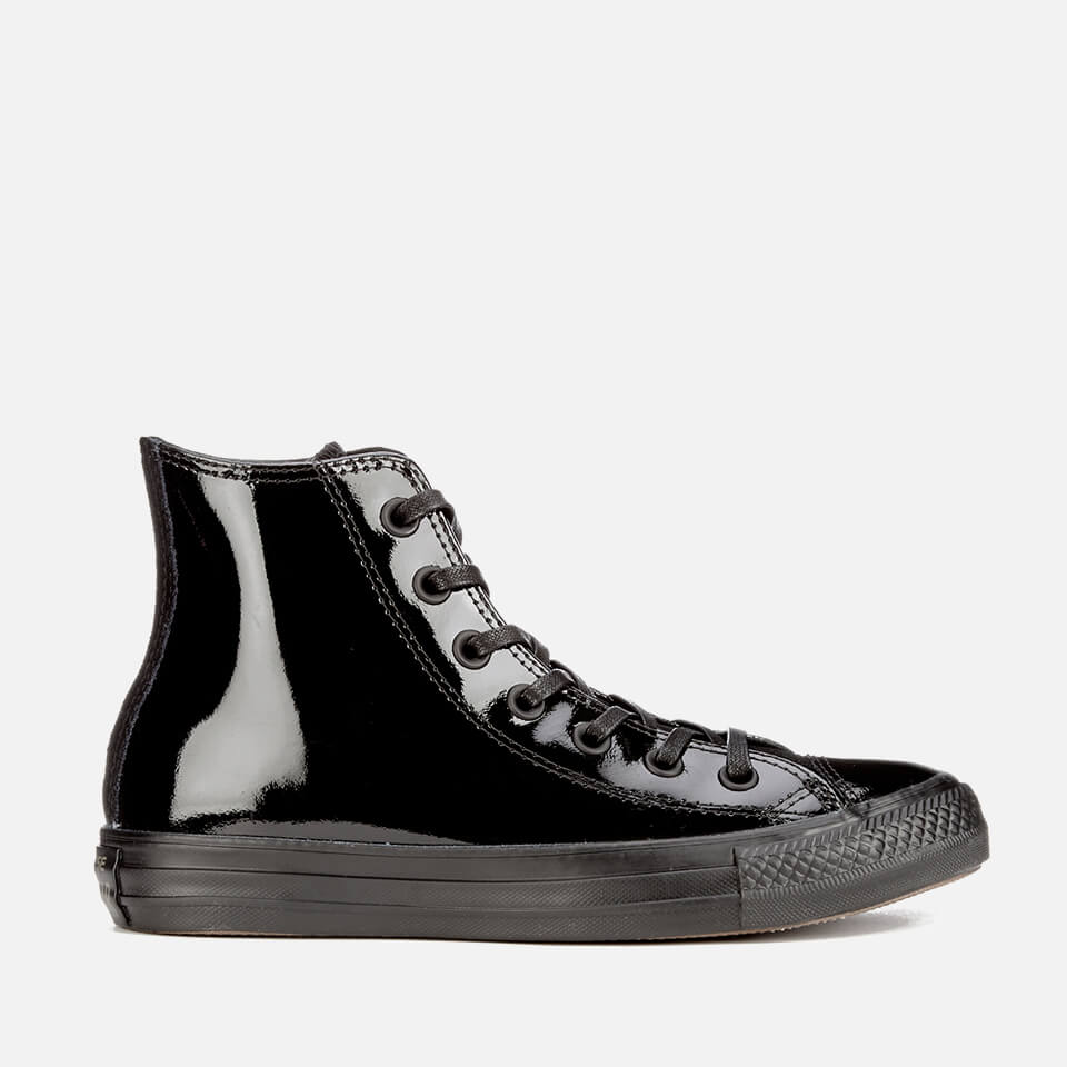 d0d6327be410ee ... Converse Women s Chuck Taylor All Star Patent Leather Hi-Top Trainers -  Black