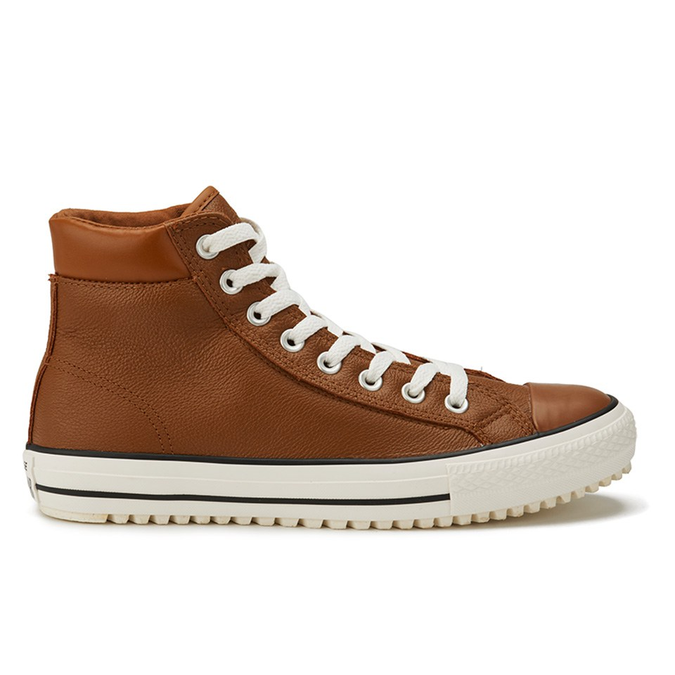 fbf68f9a73b095 ... Converse Men s Chuck Taylor All Star Leather Thinsulate Converse Boots  - Pinecone Brown Egret