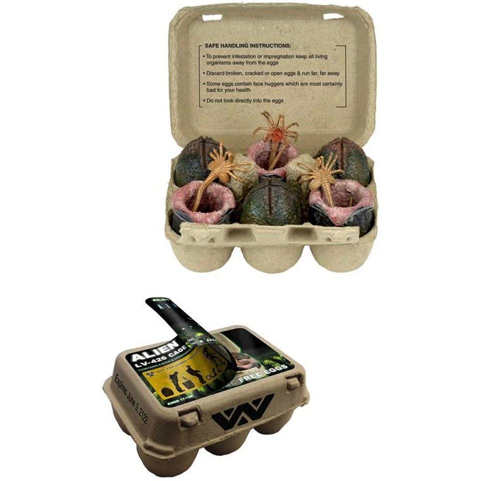 NECA Alien Xenomorph Egg Set In Collectible Carton