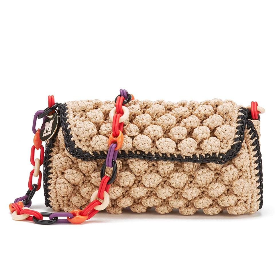 fb93364c45f9 M Missoni Women s Raffia Shoulder Bag - Rose Gold - Free UK Delivery over  £50