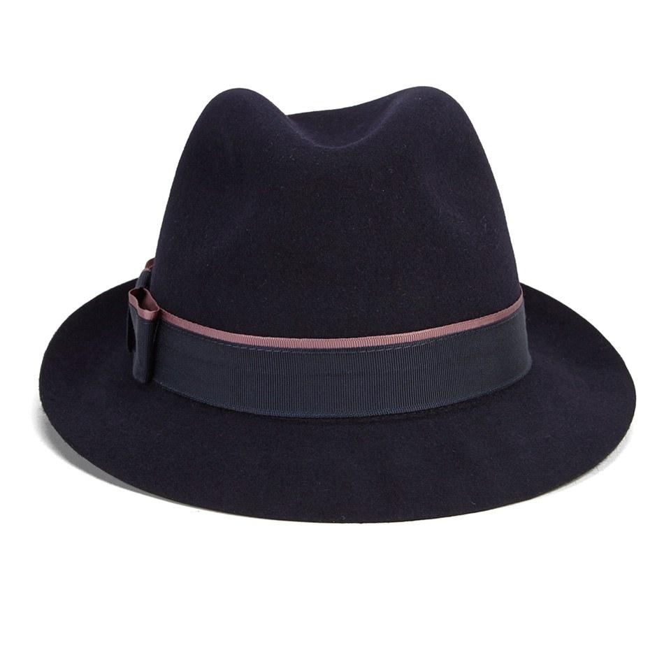 708bd72d885f03 Christys' London Women's Melissa Fur Felt Trilby Hat - Navy - Free ...