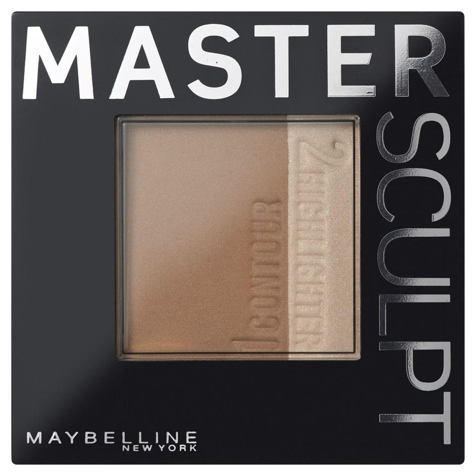 Maybelline Master Sculpt Contouring Various Shades Free Shipping Face Studio V Shape Powder 01 Light Med Lookfantastic