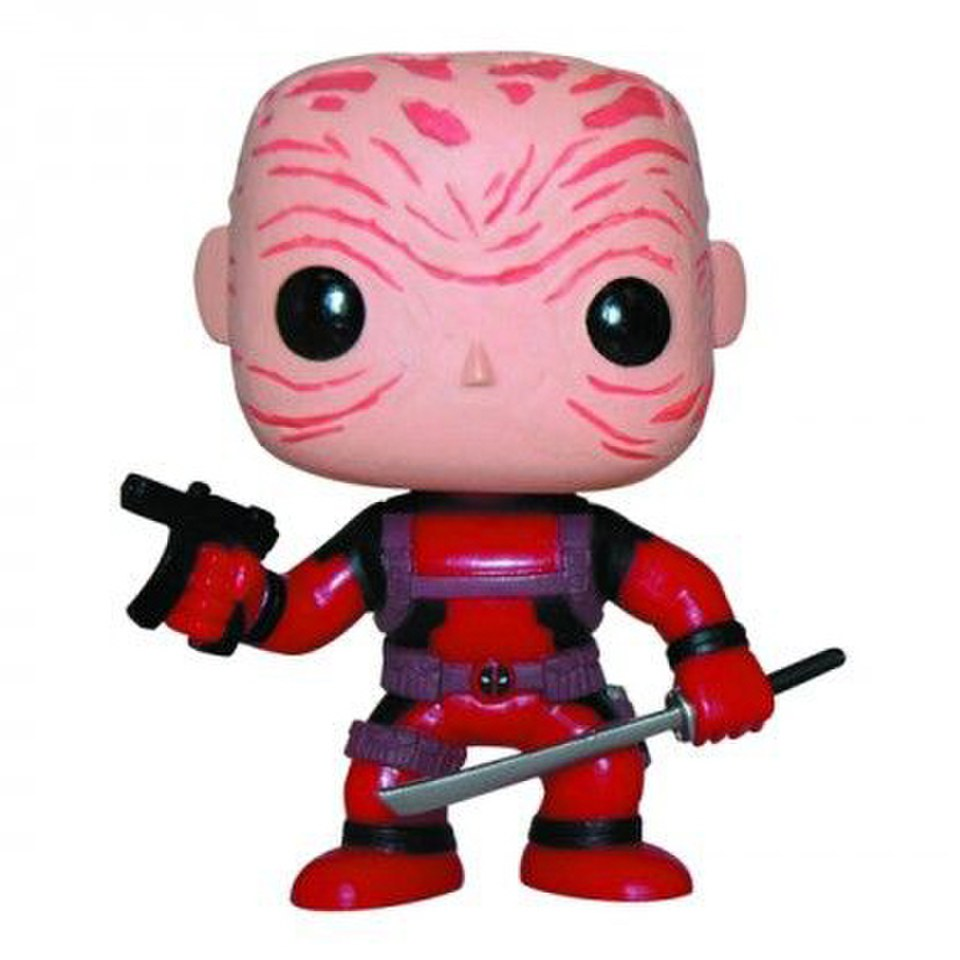 Marvel Deadpool Unmasked Exclusive Pop! Vinyl Figure