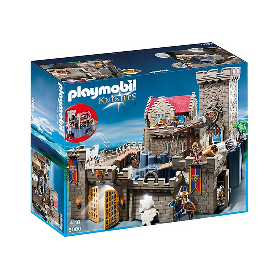 playmobil k nigsburg der l wenritter 6000 sowia. Black Bedroom Furniture Sets. Home Design Ideas