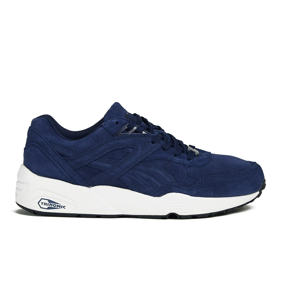 R698 Men's Mens Puma Footwear Peacoat Allover Trainers Suede 7gFPxqfzxw