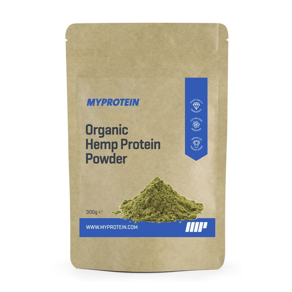 Organic Hemp Protein Powder - Unflavoured - 300g