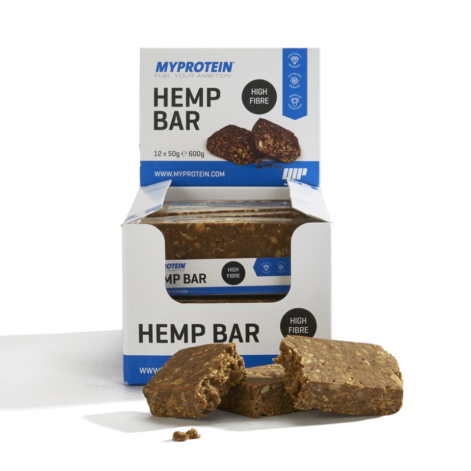 Hemp Protein Bar, Box of 12