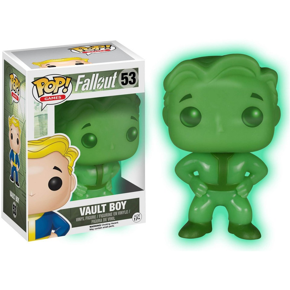 Fallout Vault Boy Glow In The Dark Limited Edition Pop! Vinyl Figure