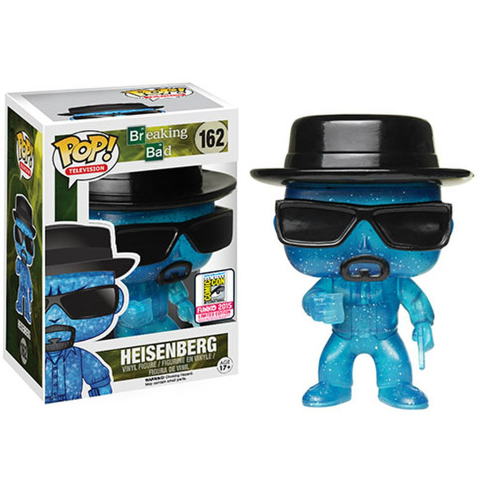 Breaking Bad Blue Meth Heisenberg SDCC Exclusive Pop! Vinyl Figure