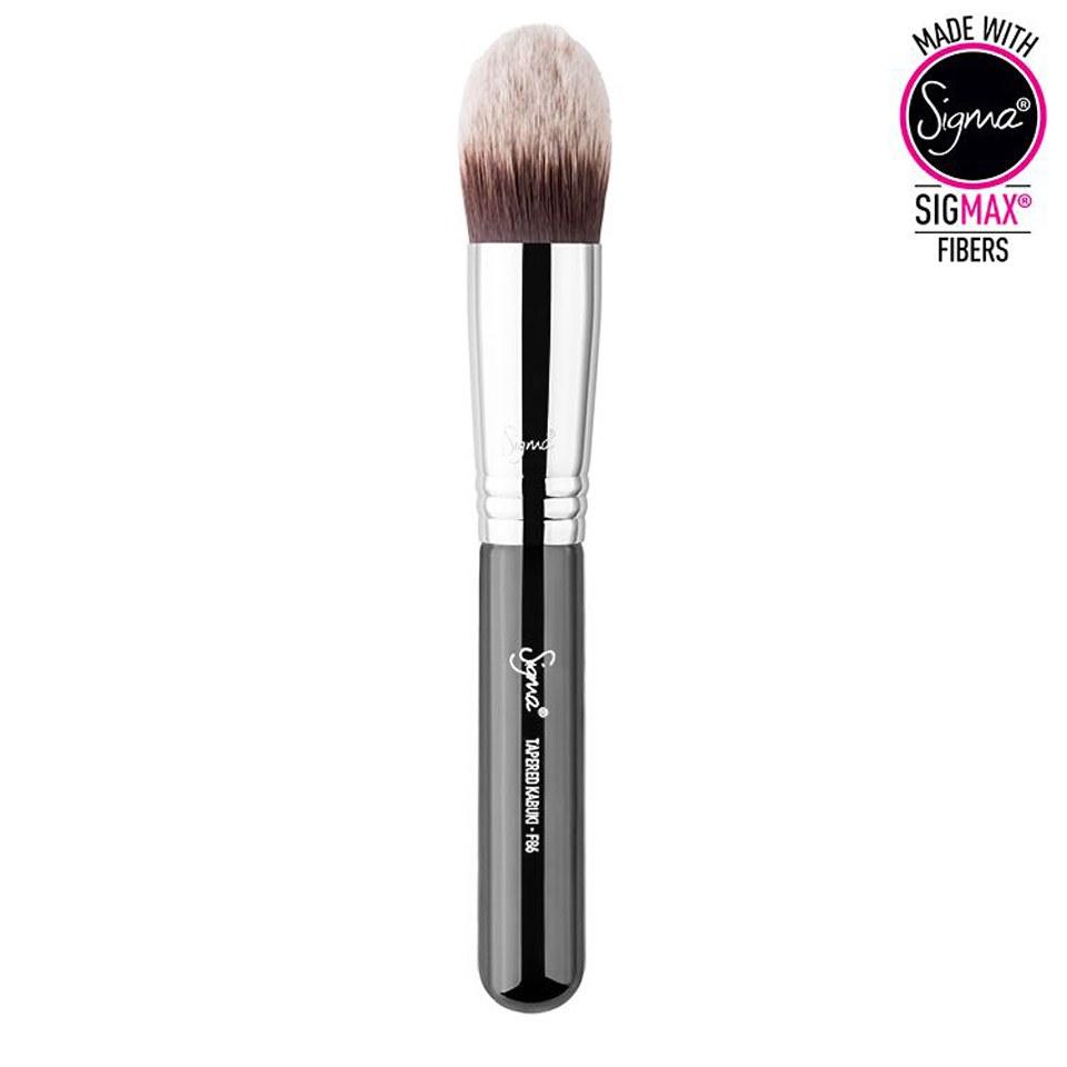 Sigma F86 Tapered Kabuki Brush Health Beauty Beautyexpert Kuas Hello Kitty