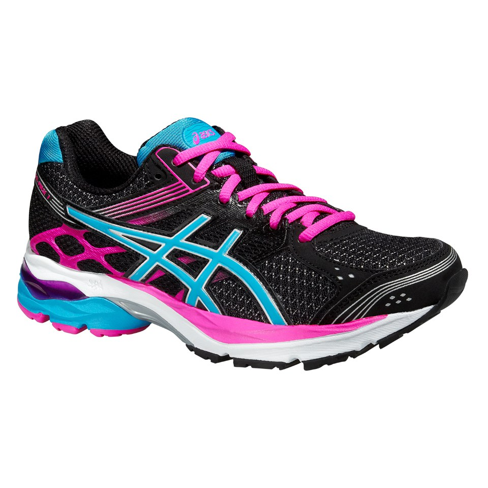 Asics Women's Gel Pulse 7 Running Shoes - Black/Turquoise