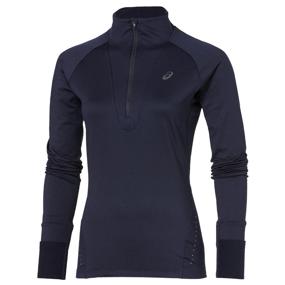 asics womens long sleeve running top
