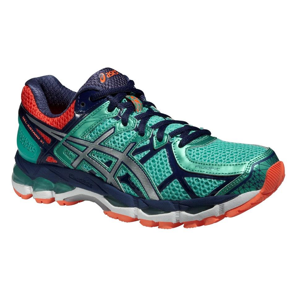 057fcda7 Asics Women's Gel Kayano 21 Running Shoes - Aqua Mint/Silver/Indigo Blue