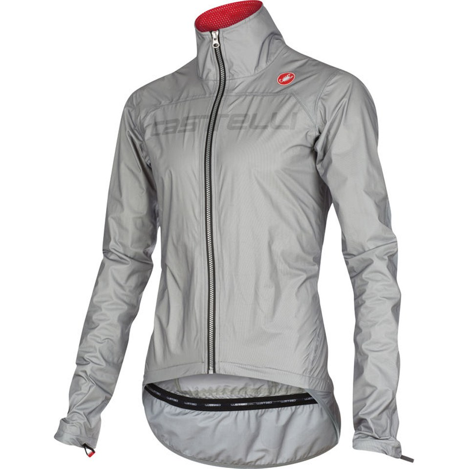 Castelli Tempesta Race Jacket - Grey