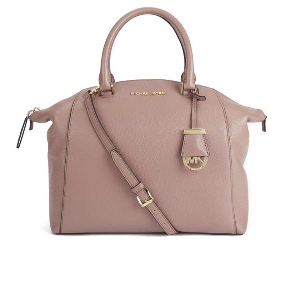 759c035724b4 MICHAEL MICHAEL KORS Women s Riley Large Satchel Bag - Dusty Rose - Free UK  Delivery over £50
