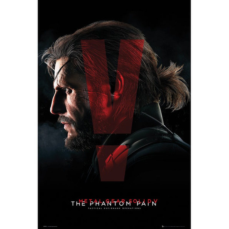Metal Gear Solid V Cover - 24 x 36 Inches Maxi Poster